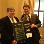 Phill Grove with Steve Wozniak