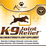 K9 Joint Relief Label