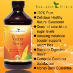 Ballena Nelle Yacon Syrup Health Benefits